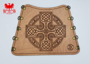 KG Leather Bracer - Celtic Cross (4)