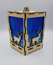 Load image into Gallery viewer, Stag in Forest Lantern