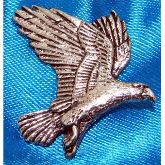 Eagle Pin Badge
