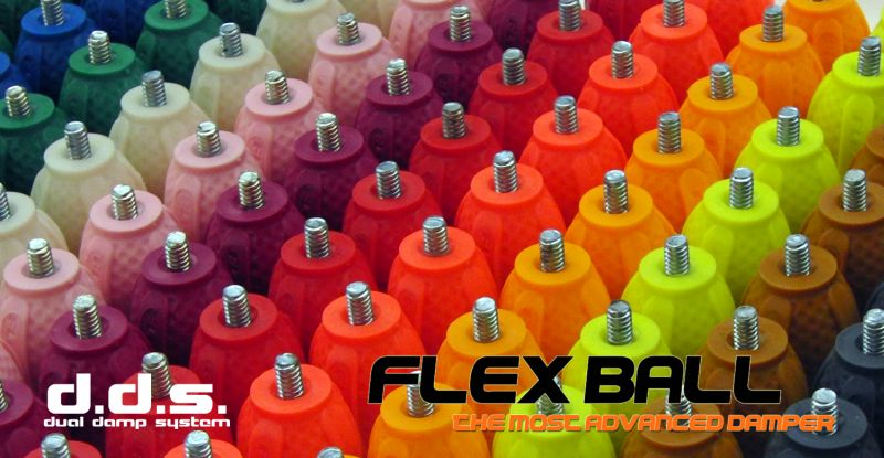 Flex-ball 2.0 Damper 1/4-1/4