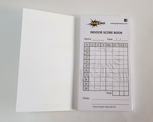 Gas Pro Indoor Score Book