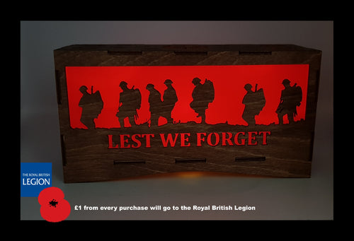 Lest We Forget Remembrance Lantern