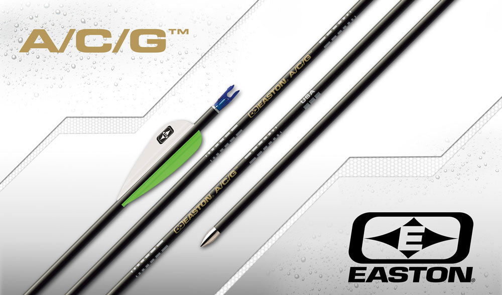 Easton ACG Arrows with Bohning Vanes x12