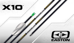 Easton X10 Carbon Arrows x12