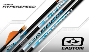 Easton Hyperspeed PRO 3D Arrows x12