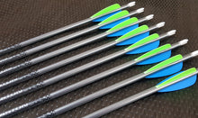 Load image into Gallery viewer, Easton Platinum Plus XX75 Arrows with EP Vanes x12