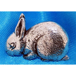 Rabbit Pin Badge