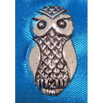 Stylised Owl Pin Badge
