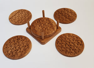 Oak Coasters - Waves