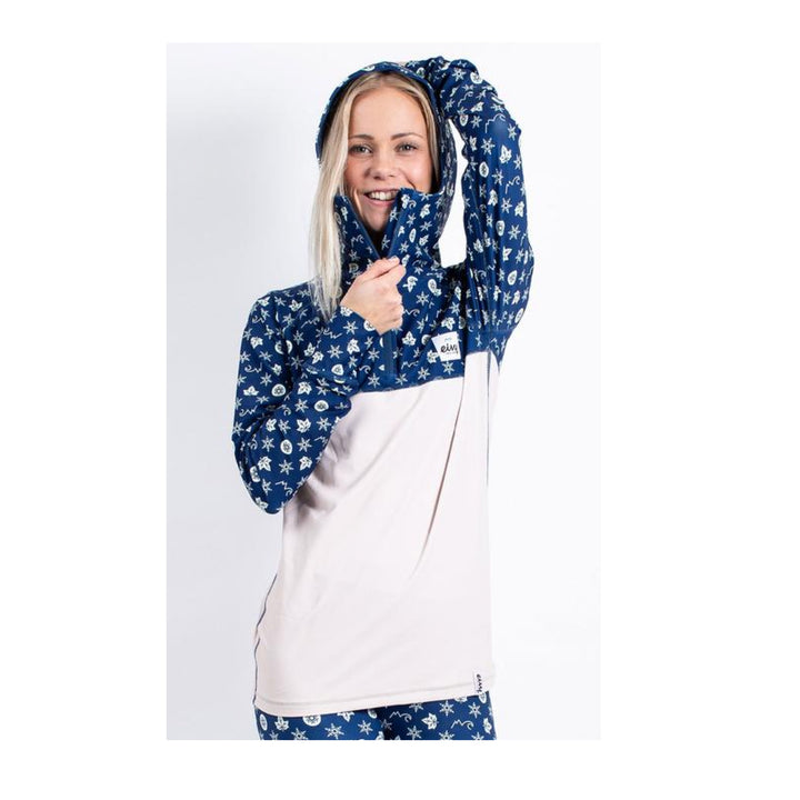 Eivy Icecold Hood Top Navy Monogram