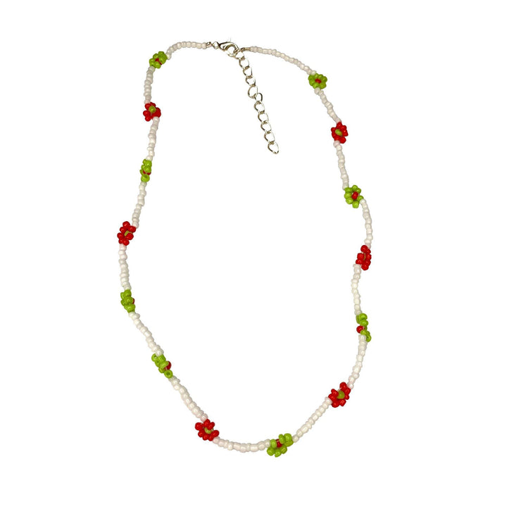Limited Edition String of Daisies Beaded necklace