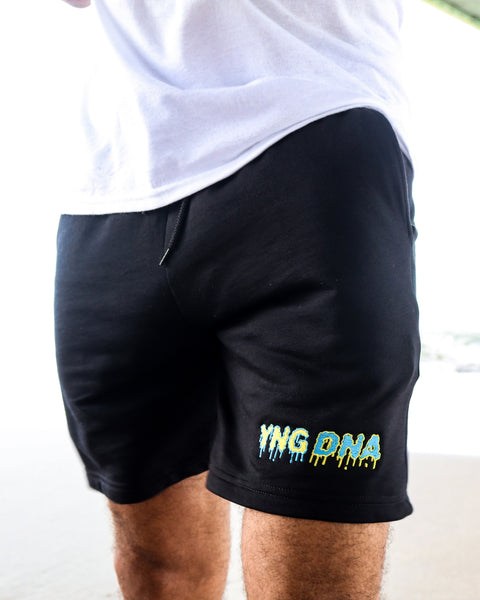 Bahamas Drip Sweat Shorts Black