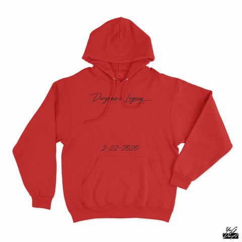 Exclusive Dwyane's Legacy Hoodie - Red