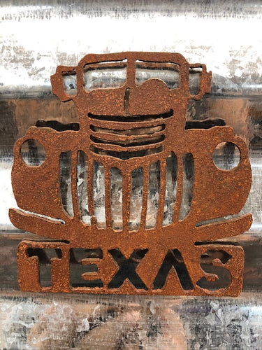 Rustic Old Truck Magnet