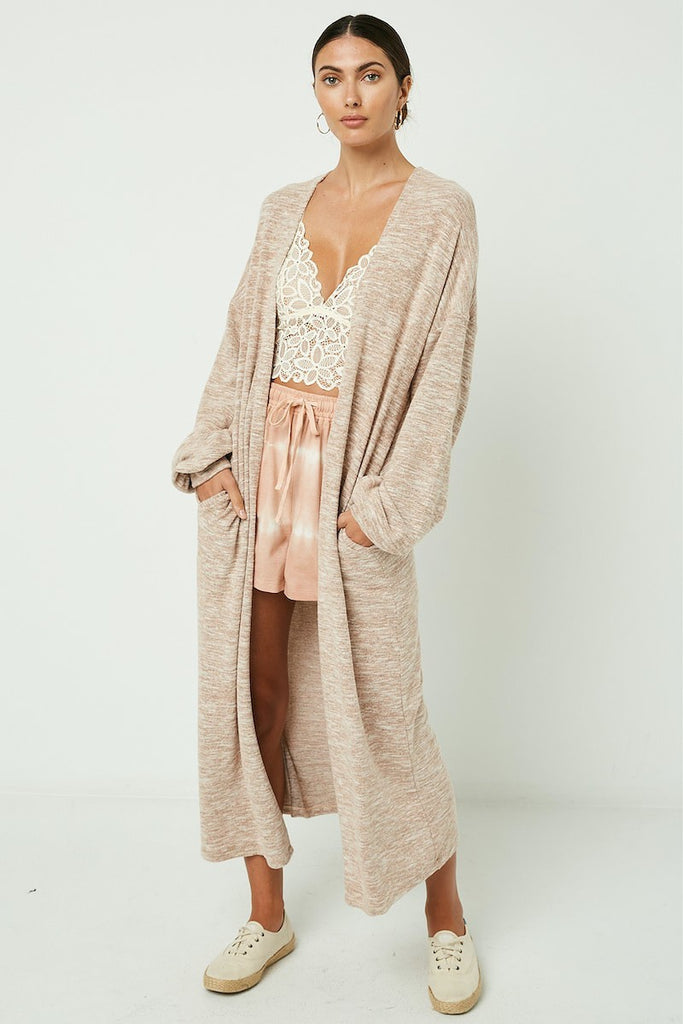 Long Knit Duster