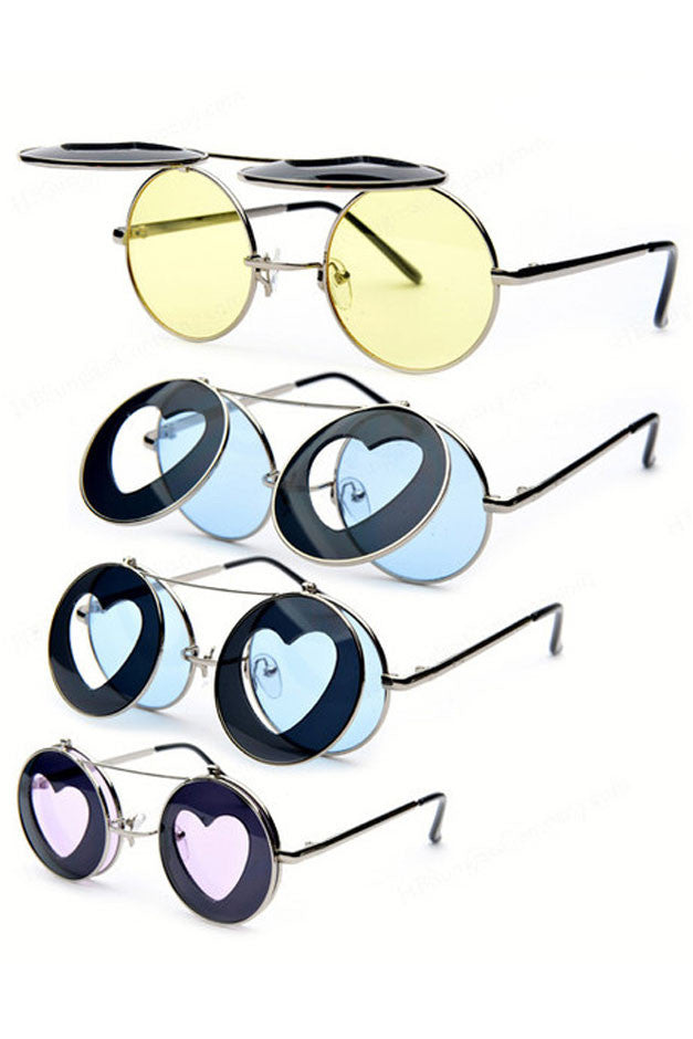 Heart Less Sunglasses