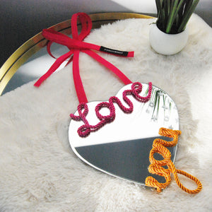Load image into Gallery viewer, Joy - Love You Heart Shaped (Self-Love) Mirror
