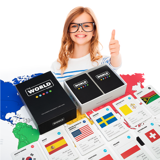 The world card game geography countries