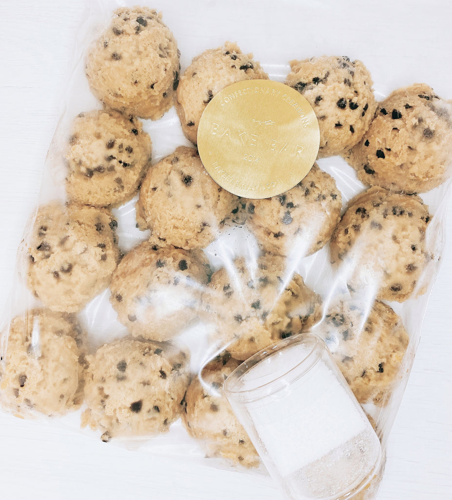 Chocolate Chip Cookie Dough - FROZEN!