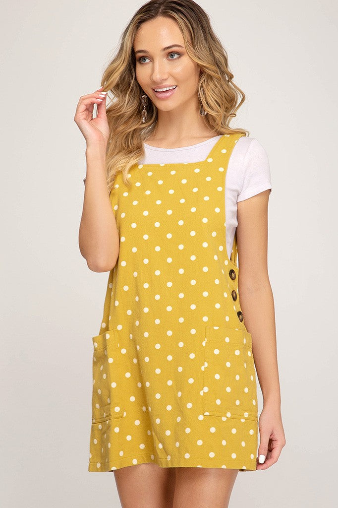 Summer Days Overall Dress
