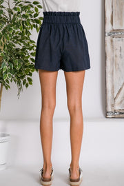 Now And Again Navy Shorts