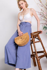Picture This Paperbag Pants in Lavender