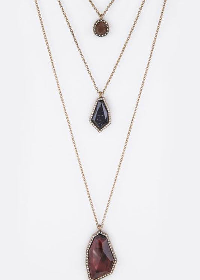 Trinity Three Layer Necklace