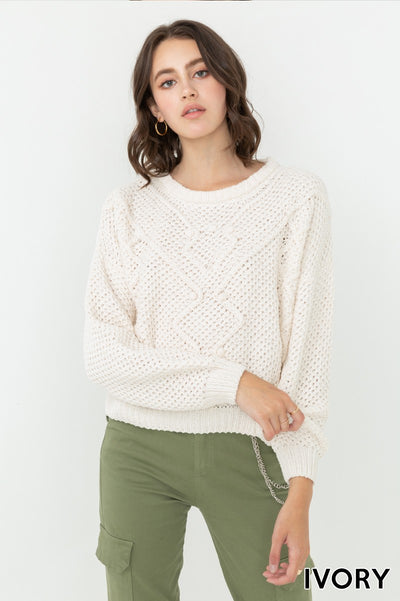 Timeless Ivory Sweater