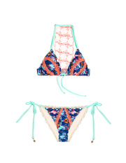 Abstract Thoughts Bikini Bottom