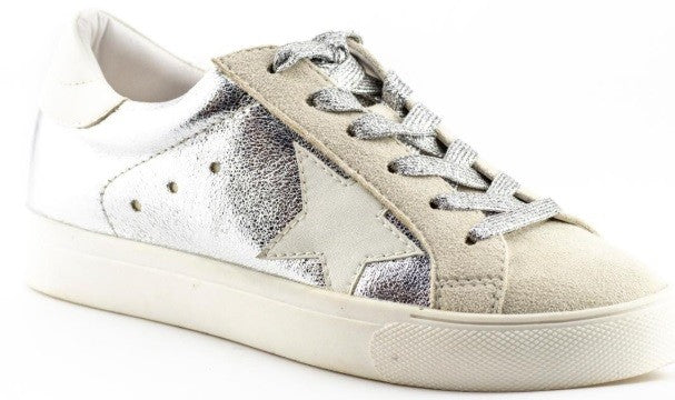 Seeing Stars Sneakers In Silver