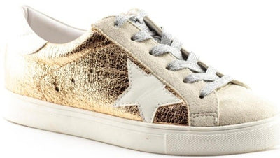 Seeing Stars Sneakers In Gold