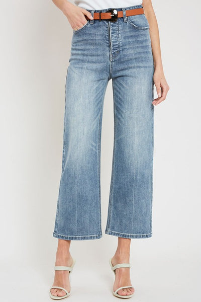 Style Game Wide-Leg Jeans