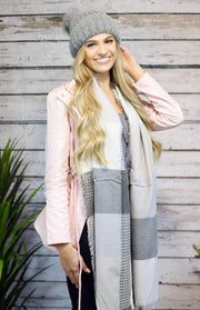 The Sweetie Pie Jacket In Light Blush