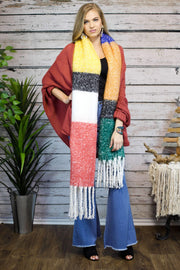 Stay Colorful Block Scarf