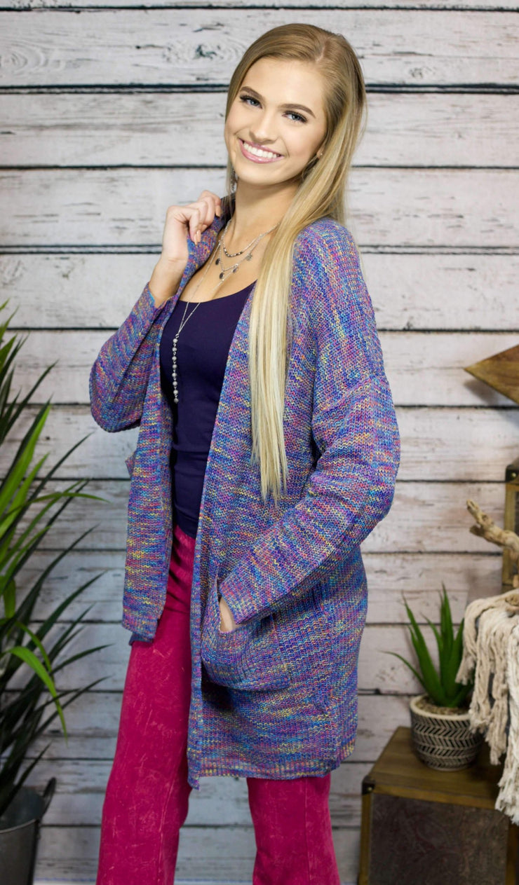 Cardigan Of Many Colors