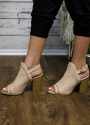 Out And About Blush Booties