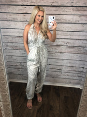 Jump In Halter Jumpsuit