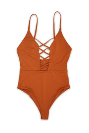Caged Front One Piece