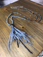 Fly Free Feather Necklace
