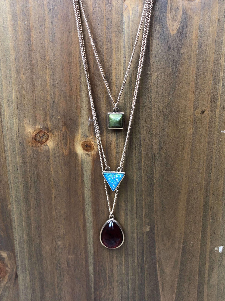 Shape Shifter Layered Necklace
