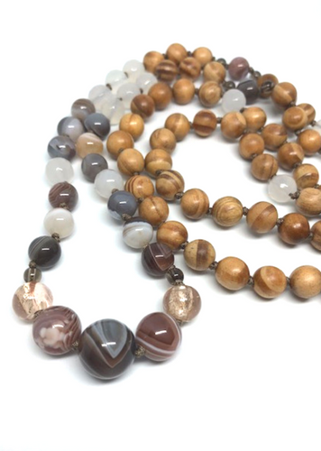 Earth Mala Necklace