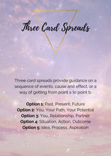 Three Card Guidance