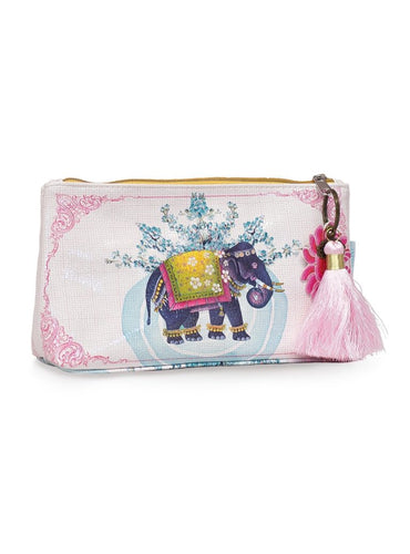 Elephant Small Tassel Pouch