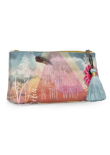 The Answers Small Tassel Pouch