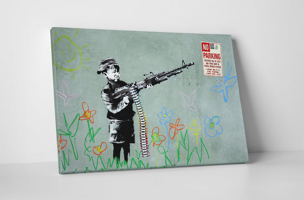 Banksy - Boy With Machine