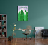 Steve Thomas City of Emeralds Canvas Wall Art