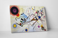 Wassily Kandinsky Composition VIII Canvas Wall Art