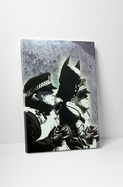 Banksy - Batman Arrest