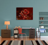 Red Blood Cells Canvas Wall Art