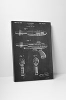 Star Wars Ray Gun Patent Canvas Wall Art